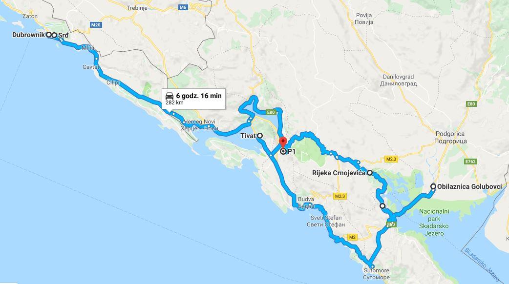 Podróż samochodem na Bałkany, samochodem przez Bałkany, co warto zobaczyć w Czarnogórze, jak dojechać do Czarnogóry, Czarnogóra samochodem, Jezioro Szkoderskie - największe atrakcje Czarnogóry, trasa do Czarnogóry