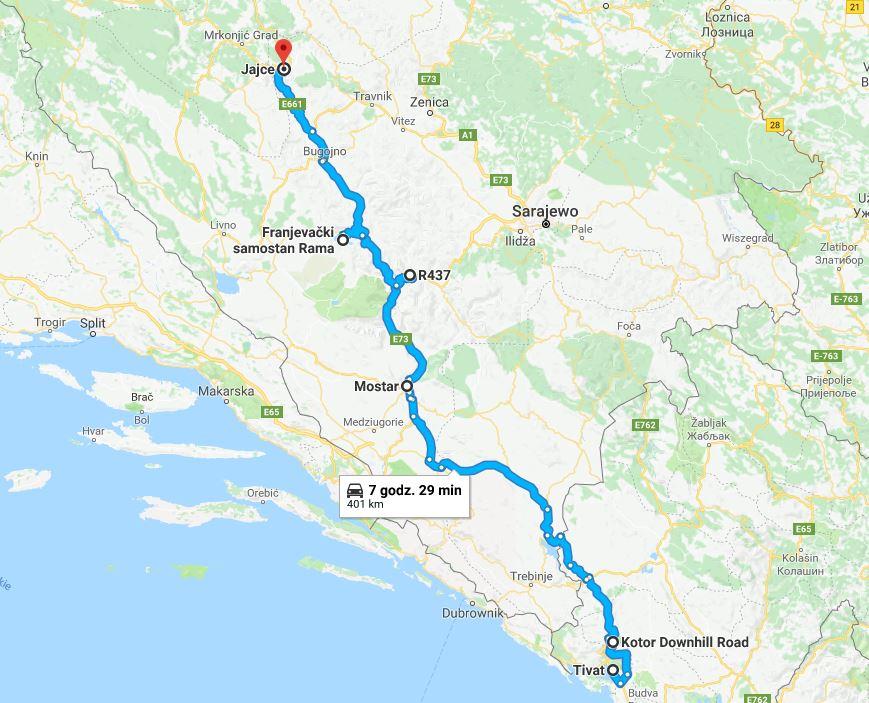 Podróż samochodem na Bałkany, samochodem przez Bałkany, co warto zobaczyć w Czarnogórze, jak dojechać do Czarnogóry, Czarnogóra samochodem, Jezioro Szkoderskie - największe atrakcje Czarnogóry, trasa do Czarnogóry, samochodem przez Bośnię i Hercegowinę