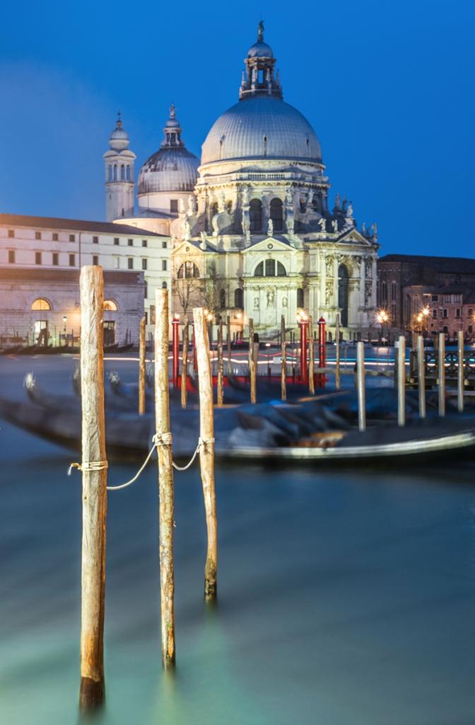 Najciekawsze miejsca w Wenecji. Co zobaczyć w Wenecji. Bazylika Santa Maria della Salute w Wenecji.