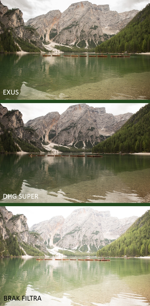 Recenzja filtrów polaryzacyjnych Marumi EXUS oraz DHG Super