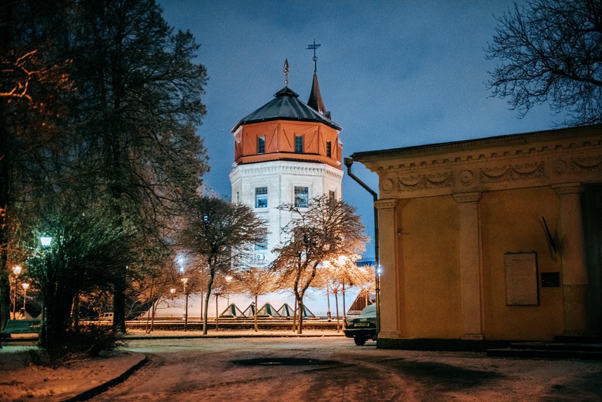 Muzeum Wody w Kijowie.