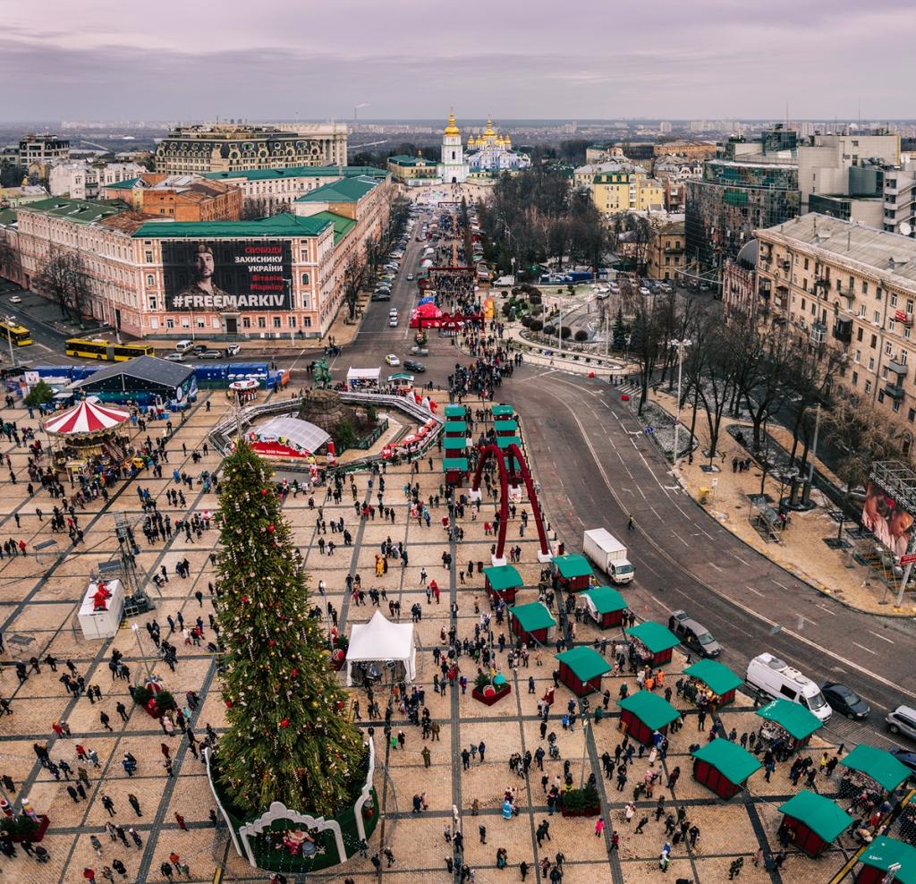 Co warto zobaczyć w Kijowie - największe atrakcje Kijowa. Plac Sofijski.