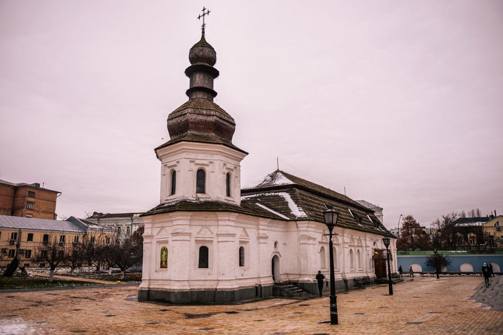 Co warto zobaczyć w Kijowie - największe atrakcje Kijowa. Monastyr Świętego Michała Archanioła o Złotych Kopułach.
