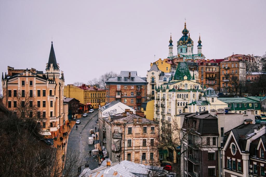 Co warto zobaczyć w Kijowie - największe atrakcje Kijowa. Zjazd Świętego Andrzeja.