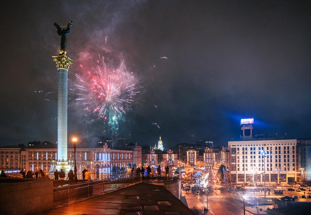 Co warto zobaczyć w Kijowie - największe atrakcje Kijowa. Majdan Niezależności / Plac Niepodległości.