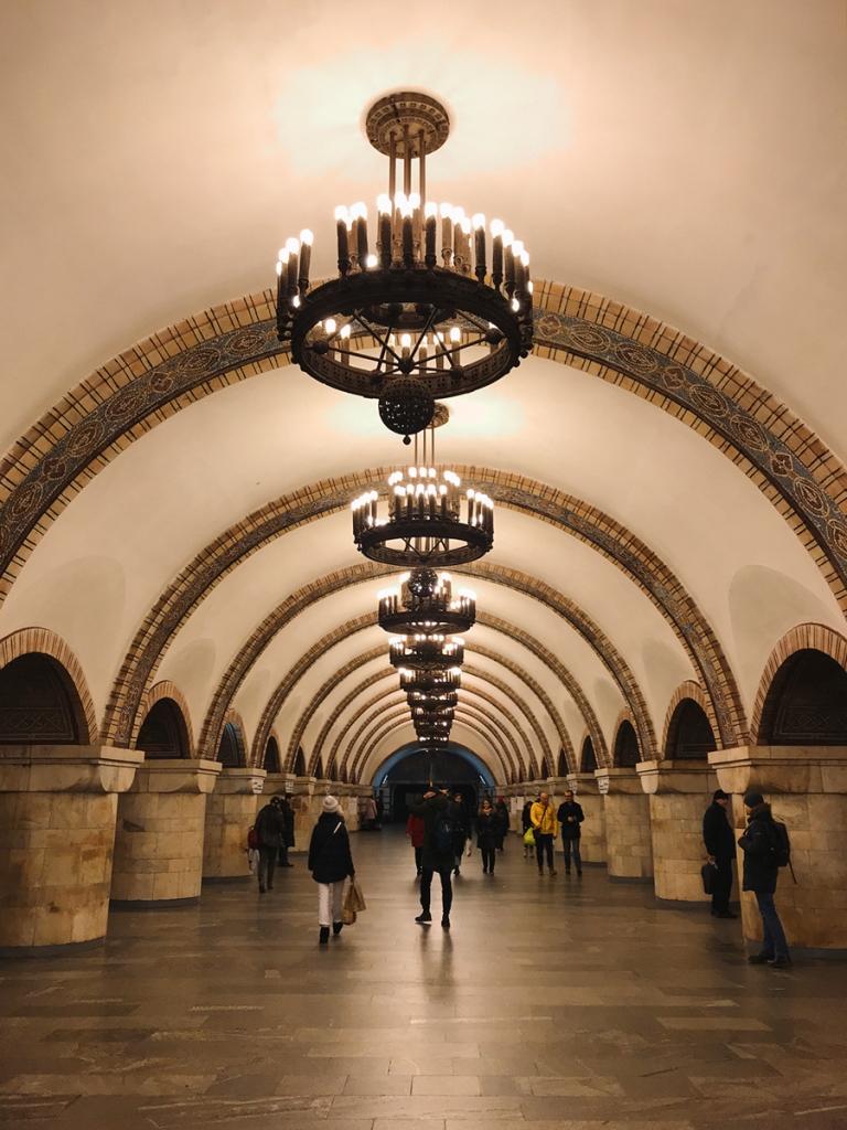 Co warto zobaczyć w Kijowie - największe atrakcje Kijowa. Metro w Kijowie.
